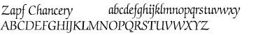 Zapf Chancery Font