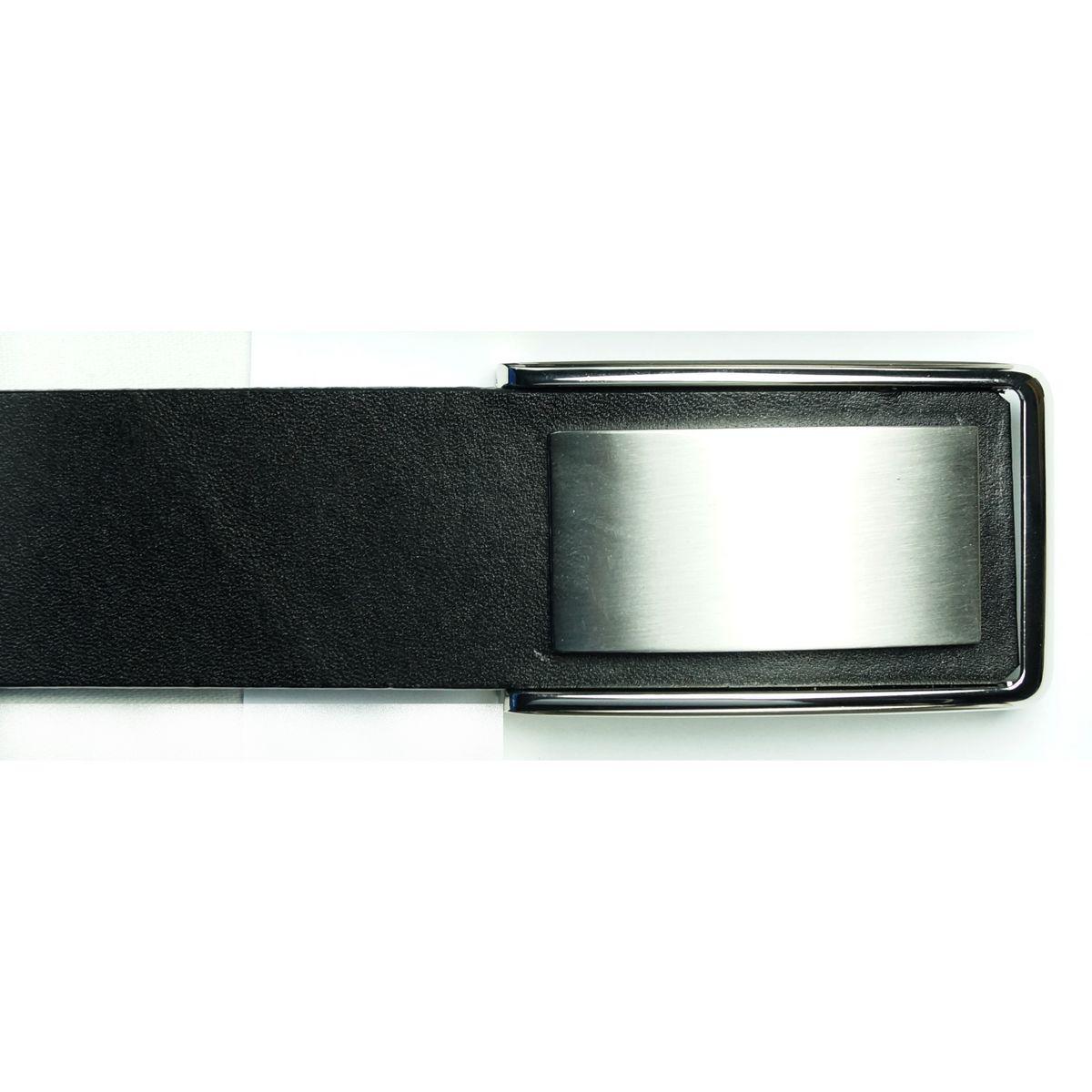 66bdf95129e Køb Læder Bælte - Giorgio - Black fremstillet af 100% Læder og Metal ...
