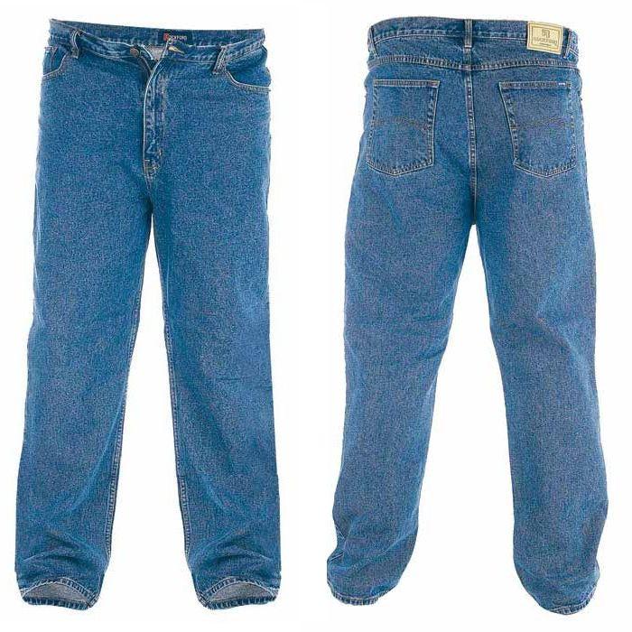 bukser med ekstra lange ben