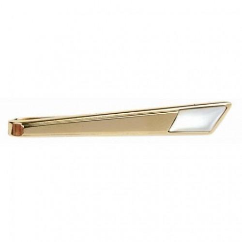 Slipseholder Sværdet Guld Spids Perlemor