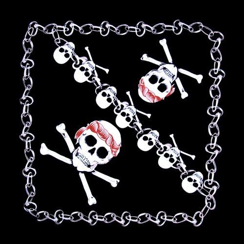 Bandanna Skulls & Chains