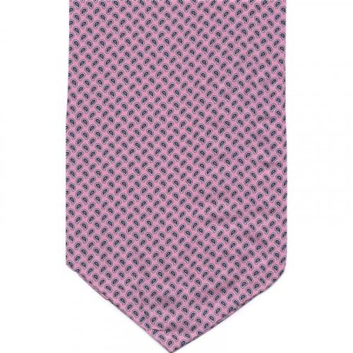 Ascot i Silke Moderne Paisley - Pink