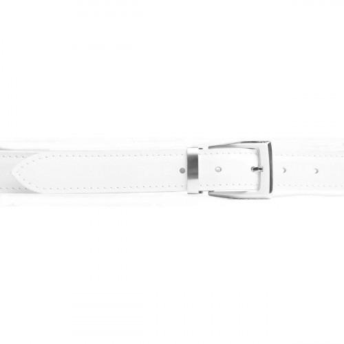 Lækkert hvidt tommy belte