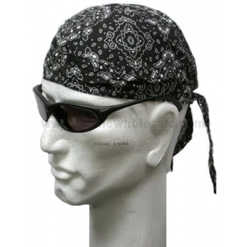 Sort Paisley Headwrap Bandana