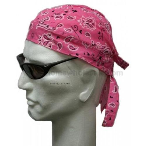 Pretty in Pink Headwrap Bandana