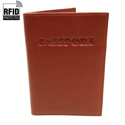 RFID Pas Holder i Lysebrunt Læder