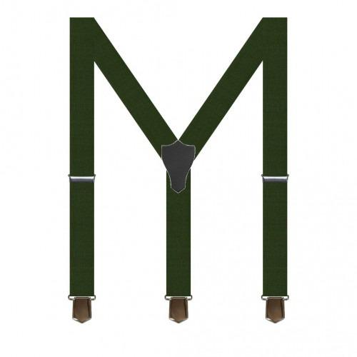 Grøn Herre Seler med Y ryg