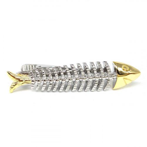 Slipsenål Fiske Skelet