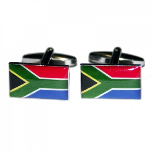 Syd Afrikas Flag Mansjettknapper