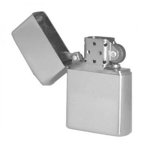 Benzin Lighter med Gravering