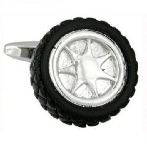 Manchetknapper Hjul med Dæk