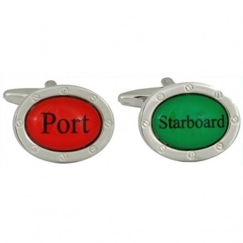 Manchetknapper Port & Starboard
