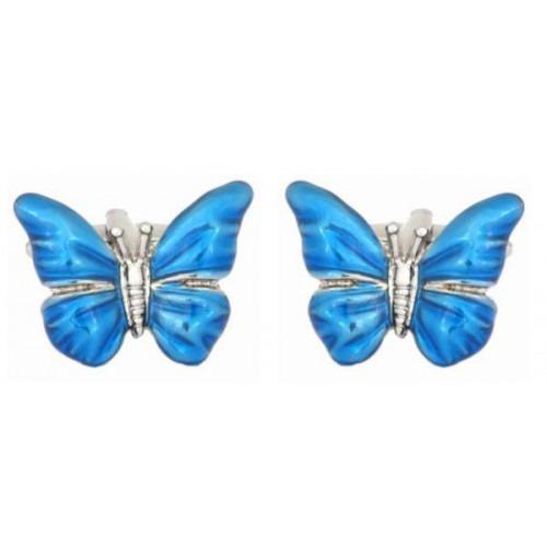 Manchetknapper Butterfly1