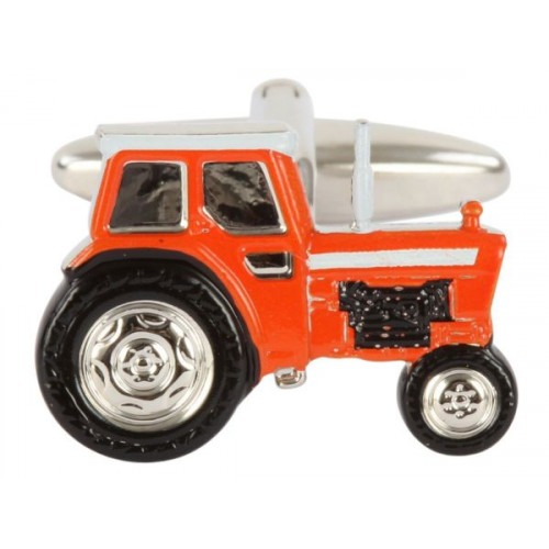 Orange Manchetknapper Traktor