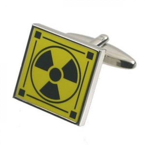 Manchetknapper Radioaktiv