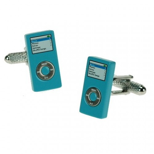 Manchetknapper iPOD Design Ice Blue