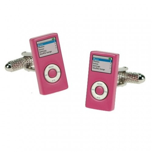 Manchetknapper iPOD Design Pink
