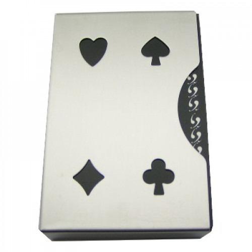 Spillekort Hylster Stål