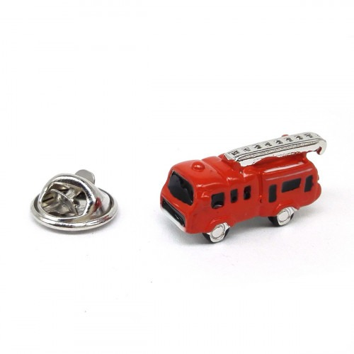 Pin Rød Brand Bil