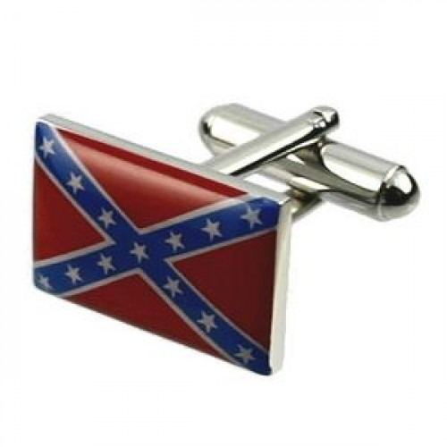 Manchetknapper Confederate / Rebel Flag