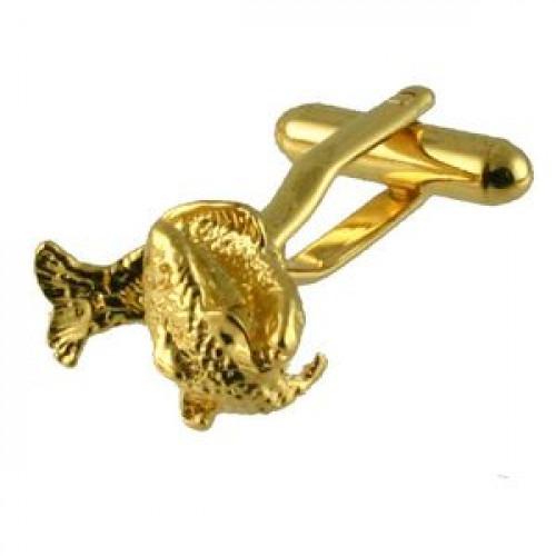 Manchetknapper Stjernetegn Fisken Guld