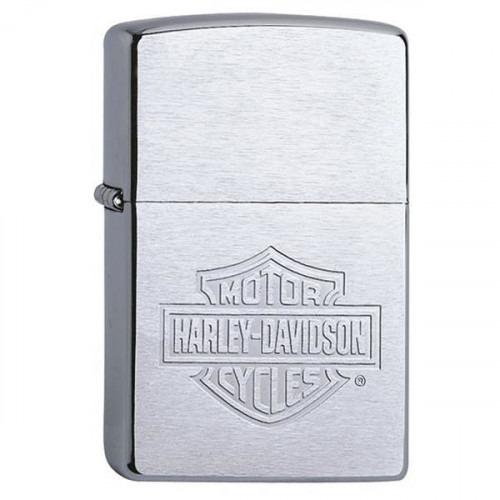 Ægte Zippo Lighter Harley Davidson Logo
