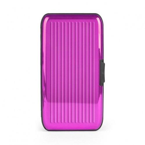 Card-Guard Tegnebog Kortholder - Pink Aluminium