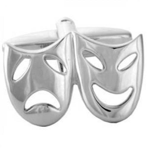 Manchetknapper Teater Masker