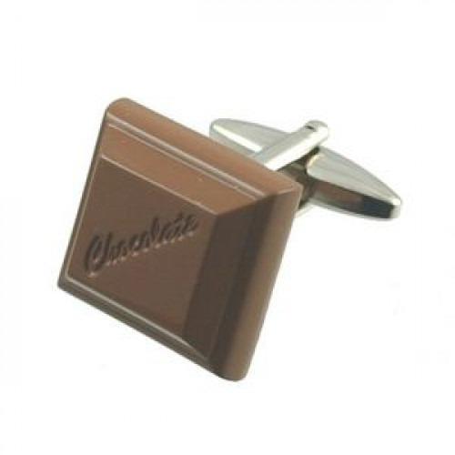 Manchetknapper Chokolade
