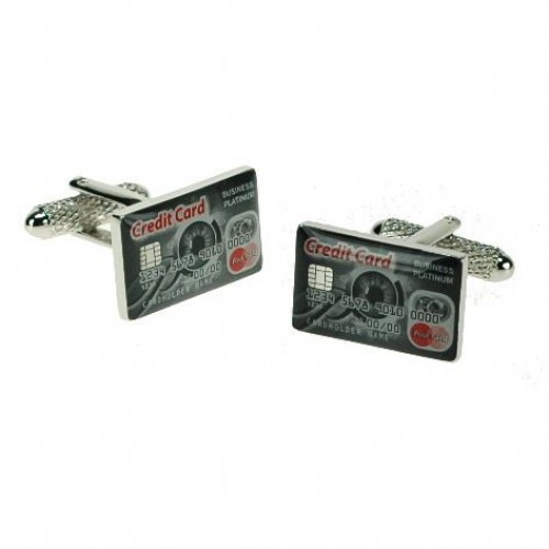 Credit Card Cufflinks