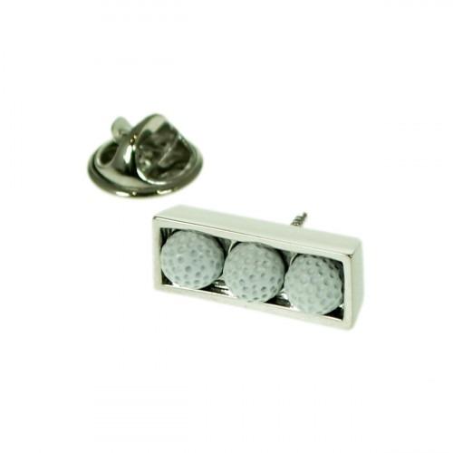 Pin 3 Hvide Golf Bolde