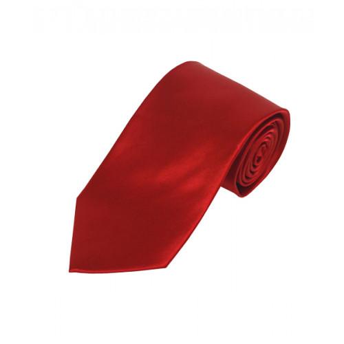 Ekstra Langt Rødt Slips