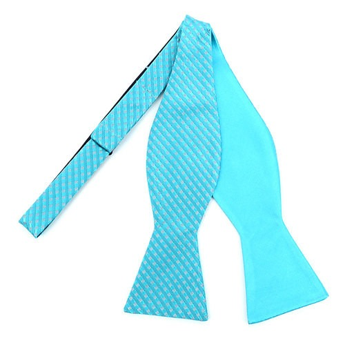 2 Farvet Freestyle Bow Tie Teal