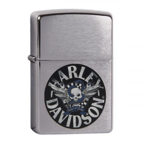 Ægte Zippo Lighter Harley Davidson Born to Ride