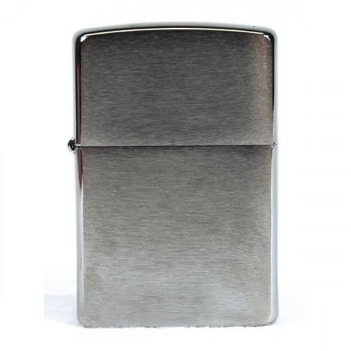 Ægte Zippo Lighter Brushed Silver