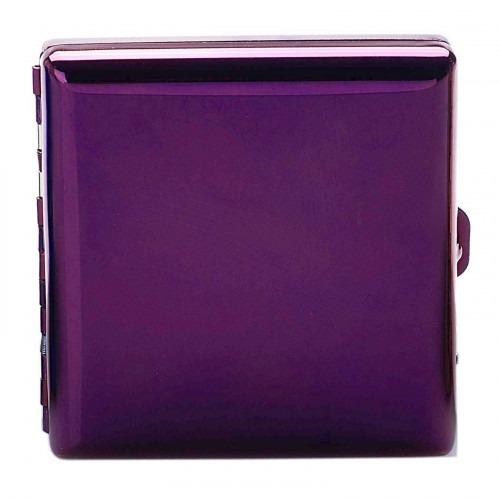 CHAMP Purple Metallic Cigaret Etui til Normale Cigaretter
