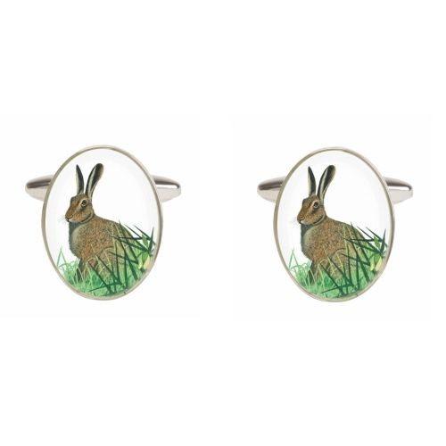 Jagt Hare Manchetknapper