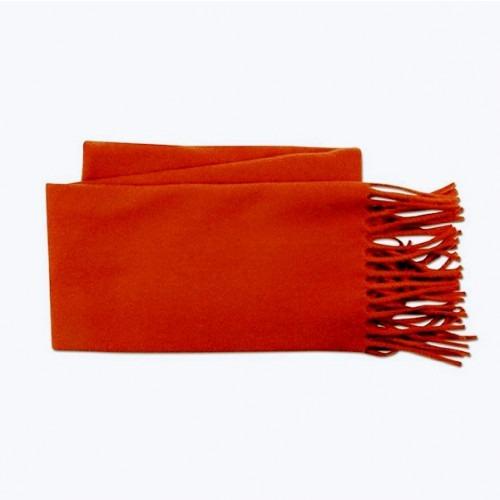 Rødt Uld Halstørklæde