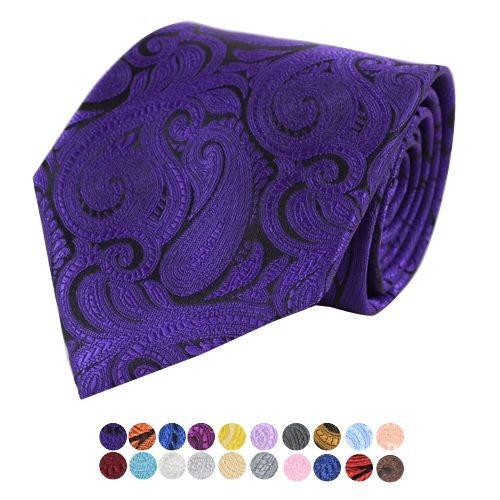 Billige Paisley Slips - Mange Farver