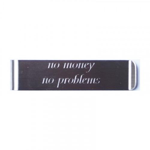 No Money No Problems Smal Extra Lang Penge Clips
