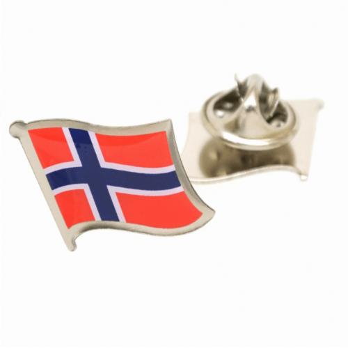 Revers Pin Norske Flag