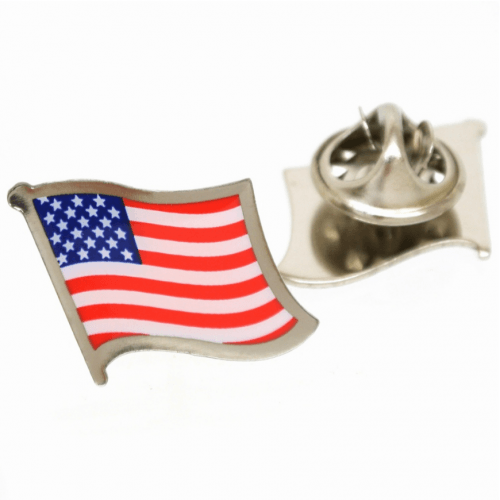 Revers Pin Stars and Stripes Flag