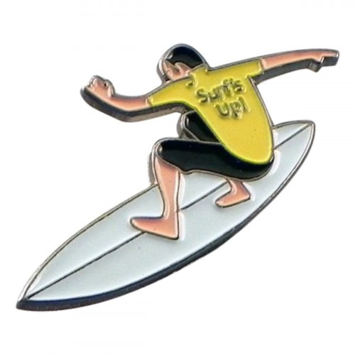 Surfer Pin