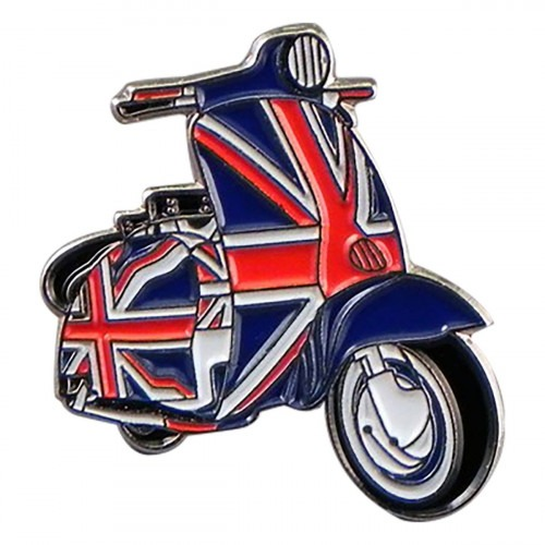UK Scooter Pin