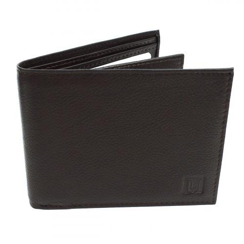 Møkrebrun RFID Bifold Læder Tegnebog