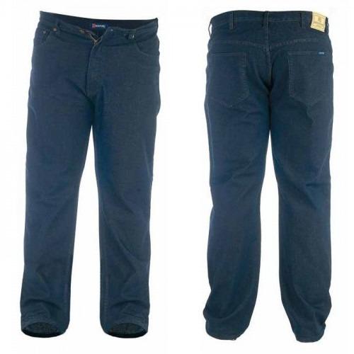 Sorte Jeans med ekstra lange ben