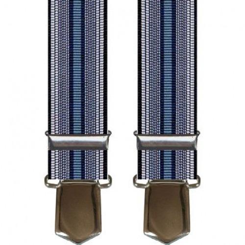 Marineblå Stribede Brede Seler