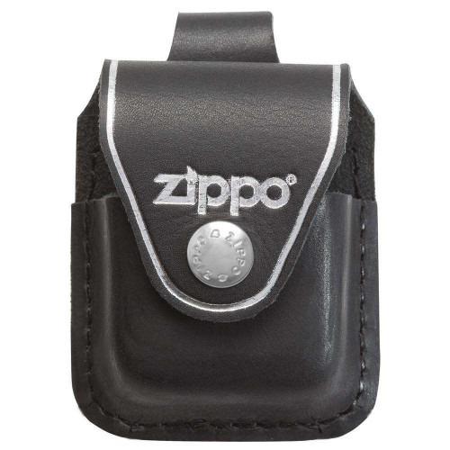 Sort Zippo Læder Pung