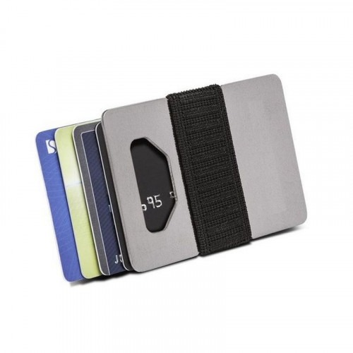 Industrial Spine Wallet Titanium Kortholder