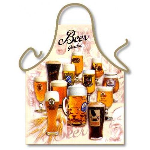 Sjovt Bier Garden Forklæde